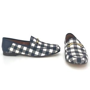 Coach Haley Gingham Loafer Size 6.5 US Women